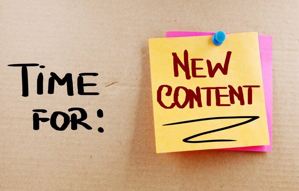 blogpost als nieuw markeren