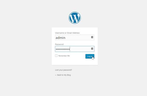 wat is wp admin in wordpress